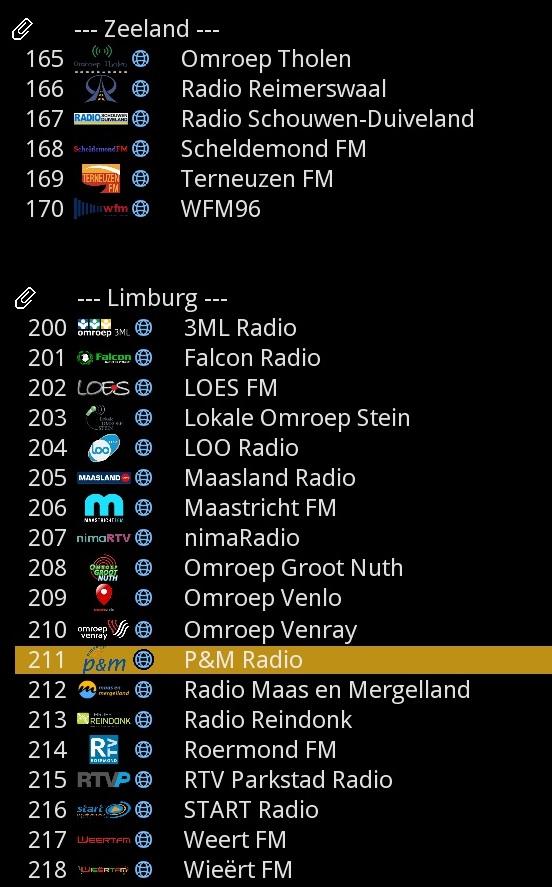 NL regionale en lokale zenders (web streams) - pagina 7 - IPTV - Sat4all