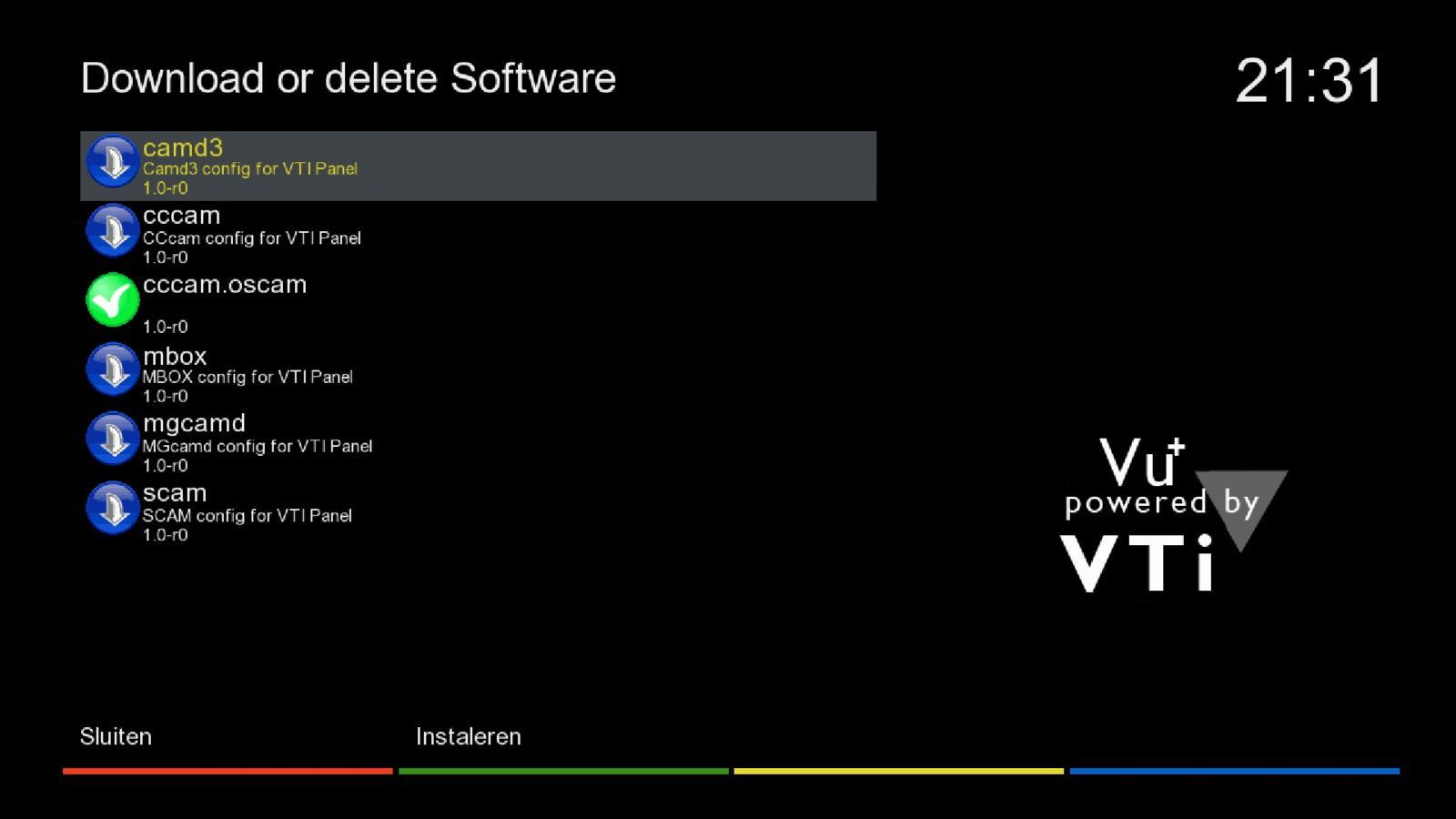 Vu Plus Duo] Vu+ duo handmatig Oscam installeren Vti image