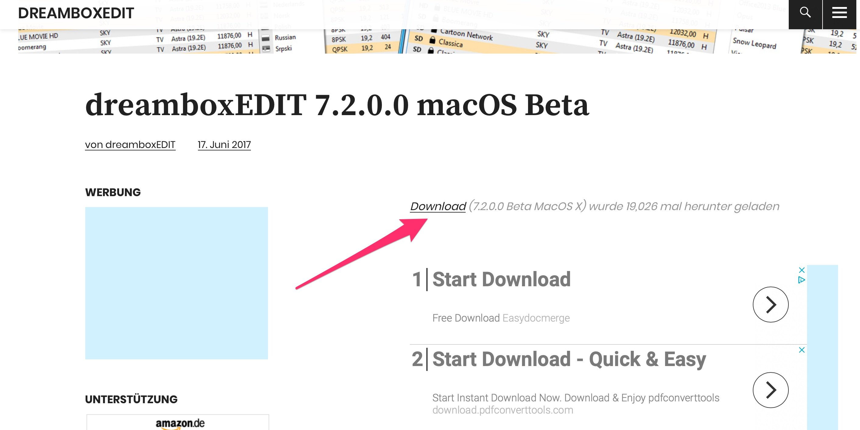 Downloaden Dreambox control center op mijn Mac - Apple