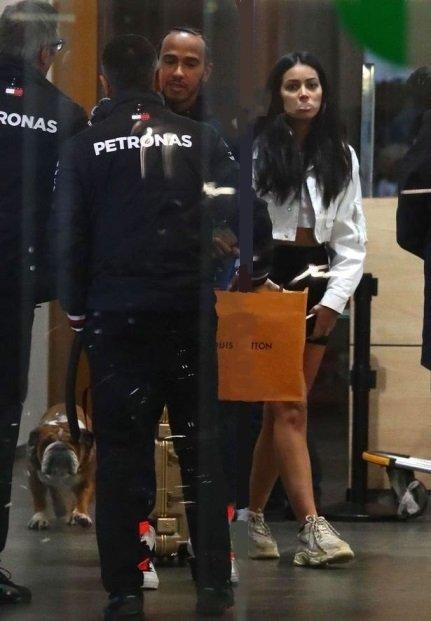 Lewis Hamilton and Cindy Kimberly.jpg