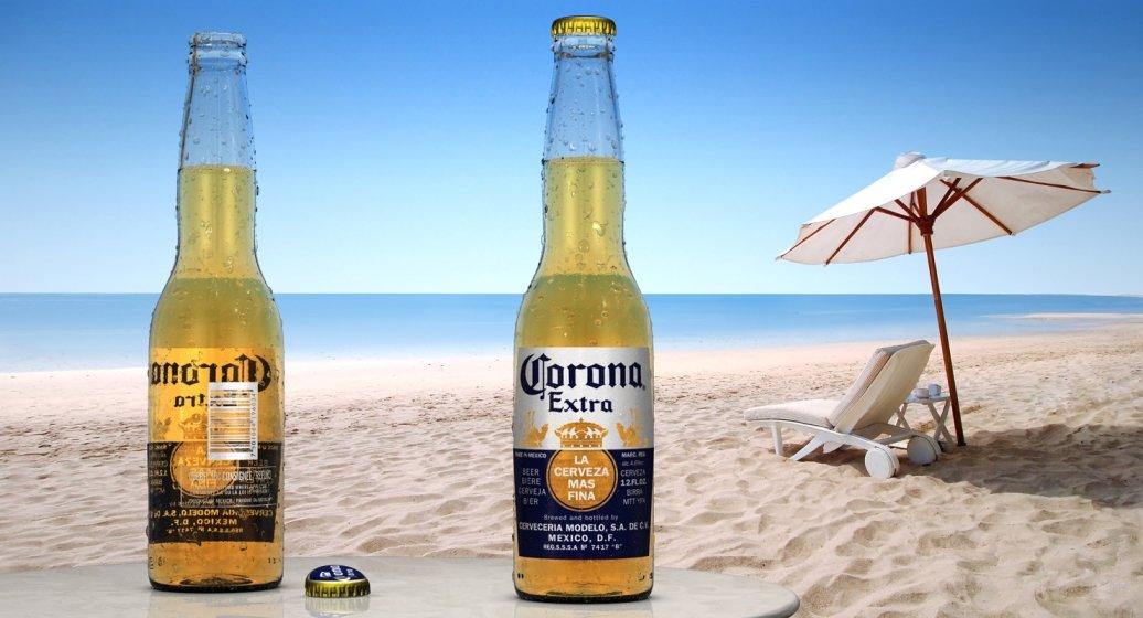 Corona Bier Umsatzrückgang